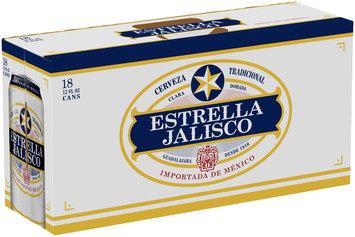 Estrella Jalisco Cerveza 18-12 fl. oz. Cans