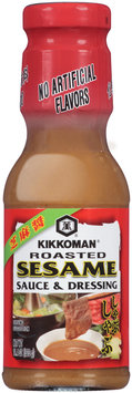 Kikkoman® Roasted Sesame Sauce & Dressing 11.4 oz. Bottle