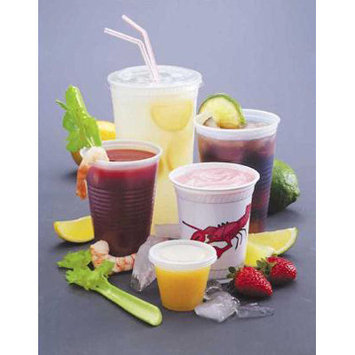 Fabri Kal Fabri-Kal 10 Oz Cold Plastic Cups, Clear, Pack of 2500