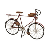 Benzara 92665 Metal Wood Bicycle