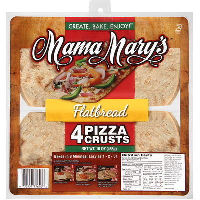 Mama Mary's™ Flatbread 16 oz. 4 Pack