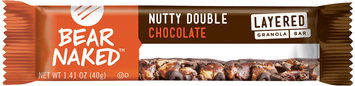 Bear Naked™ Nutty Double Chocolate Layered Granola Bar 1.41 oz Wrapper