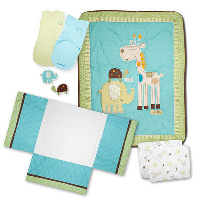 Summer Infant Giggle Gang 8 Pc. Bedding Set