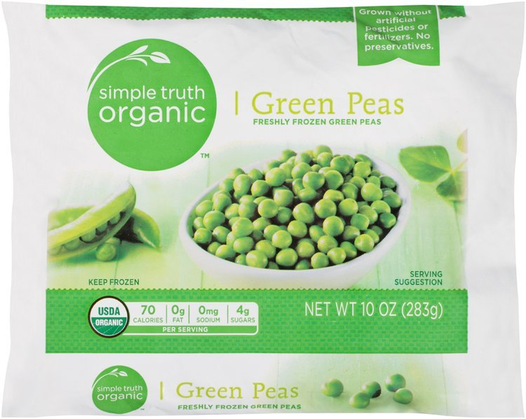 Simple Truth Organic™ Green Peas 10 oz. Package