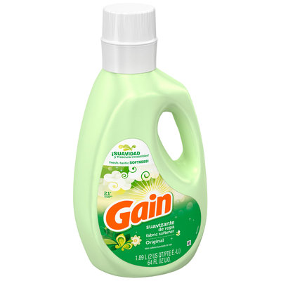 Gain with FreshLock Non-Concentrated Original Liquid Fabric Softener 64 fl. oz. Bottle
