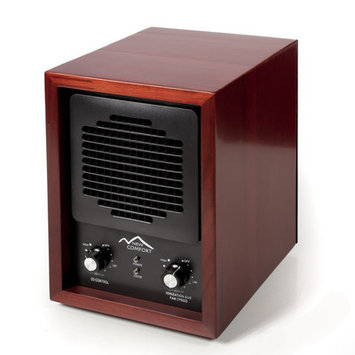 New Comfort Cherry Wood 6-stage Air Purifier with HEPA UV Ozone Ionic
