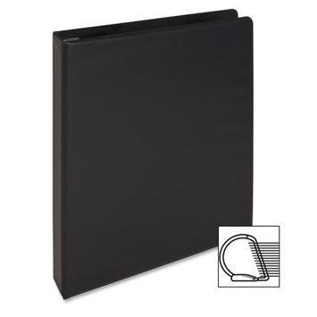 Sparco Products SPR26967 Slant-D Ring Binder- w-Sheet Lifter- 1inch Cap- 11inchx8. 50inch- BK