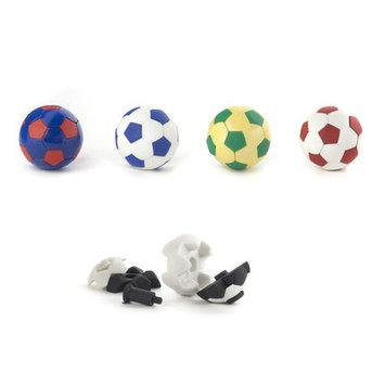 Kikkerland Soccer Erasers (5 Pack)