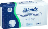 BRB30 Attends Breathable Briefs Large 24 count Pack