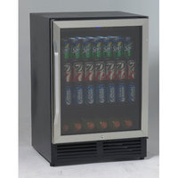 Avanti BCA516SS 24 Stainless Steel Undercounter Built-In Compact Beverage Center