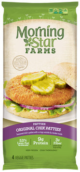 MorningStar Farms® Original Chik Patties® Patties 10 oz. Pack