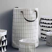 Scantrends Ferm Living Grid Laundry Basket