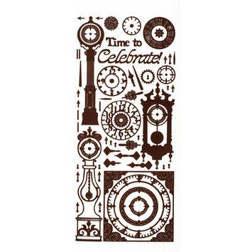 Dazzles Clock Stickers