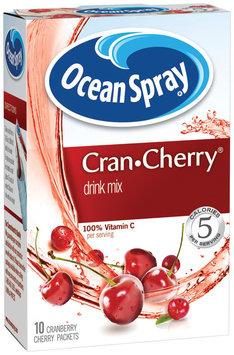 Ocean Spray Cran Cherry 1.1 Oz On-The-Go Powdered Drink Mix 10 Ct Box