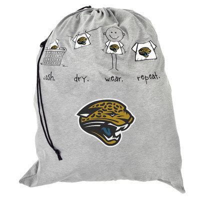 Forever Collectibles NFL Laundry Bag NFL Team: Jacksonville Jaguars
