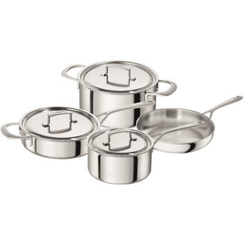 Zwilling J.a. Henckels Zwilling Sensation 7 Piece Cookware Set Stainless Steel