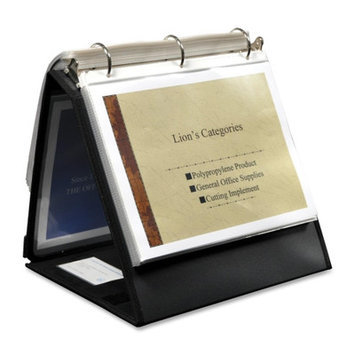 Lion Office Products Ring Binder Easel, 1-1/2