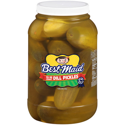 Best Maid® Dill Pickles 1 gal. Plastic Jar