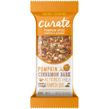 Curate™ Pumpkin Spice Pumpkin & Almonds Snack Bar 1.59 oz. Pack