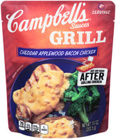 Campbell's® Grill Sauces Cheddar Applewood Bacon Chicken 10 oz. Pouch