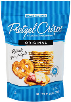 Pretzel Crisps® Original Pretzel Crackers 11.25 oz. Bag
