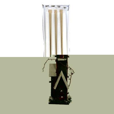 Fantastic Craft LED Taper Candle Color: Cream, Size: 18