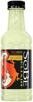 Sobe® Elixir® Spicy Limeade En Fuego Plastic Bottle