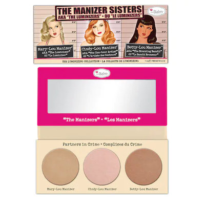 theBalm® The Manizer Sisters Luminizer Collection Palette