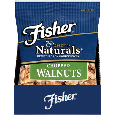 Fisher® Chef's Naturals® Chopped Walnuts 2 oz. Bag