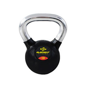 Unified Fitness Group Commercial Chrome Handle Kettle Bell Weight: 35 lbs