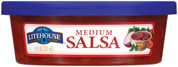 Litehouse Medium Salsa 8 Oz Tub