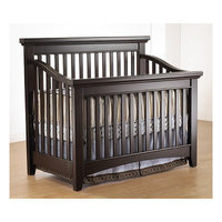 Lusso Seville Convertible Crib Finish: French White