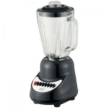 Brentwood Appliances JB-910 10-Speed Blender with Glass Jar - Black