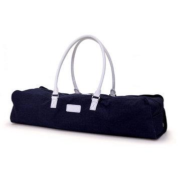 Crescent Moon Metro Yoga Bag in Navy / White