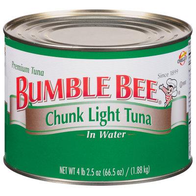 Bumble Bee Chunk Light In Water Club Pack Tuna 66.5 Oz Can