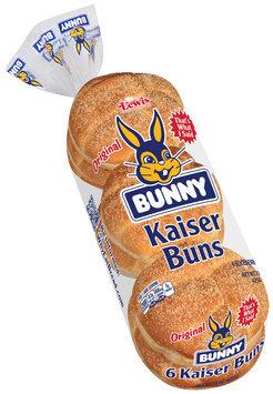 Lewis® Bunny® Kaiser Buns 15 oz. Pack