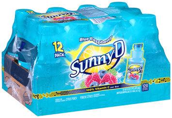 Sunny D® Blue Raspberry Citrus Punch 12-16 fl. oz. Bottles