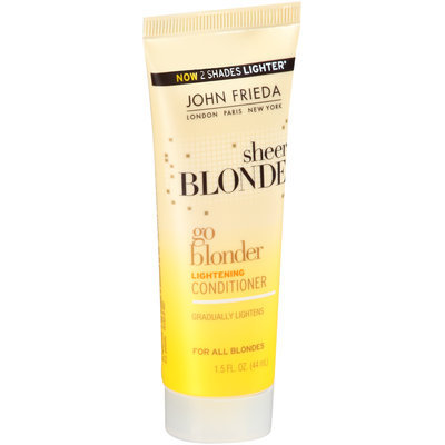 John Frieda Sheer Blonde® Go Blonder Lightening Conditioner 1.5 fl. oz. Tube