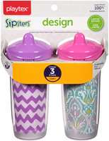 Playtex® Sipsters® Design Selections™ Spill-Proof 9 oz. Spout Cups Carded Pack
