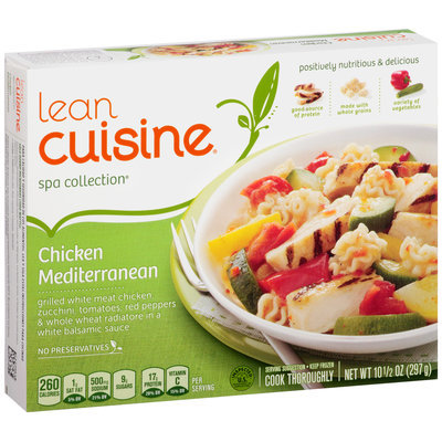 LEAN CUISINE SPA COLLECTION Chicken Mediterranean 10.5 oz. Box