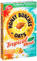 Honey Bunches of Oats Tropical Blends Crispy Mango/Crunchy Coconut Cereal (Discontinued)