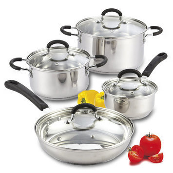 Cook N Home 8 Piece Cookware Set