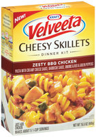 Kraft Dinners Zesty BBQ Chicken Velveeta Cheesy Skillets 15.5 Oz Box