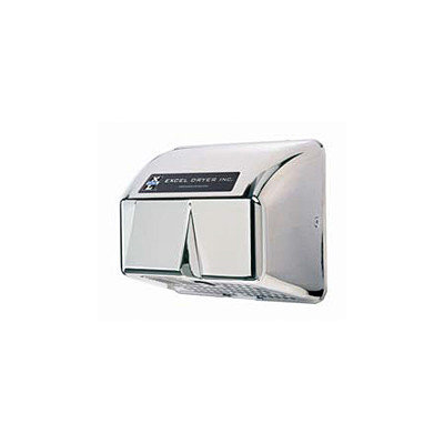 Excel Dryer Automatic Surface Mounted 208 / 230 Volt Hand Dryer in Chrome