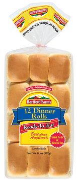 Hartford Farms® Dinner Ready-to-Eat 12 Ct Rolls 14 Oz Bag