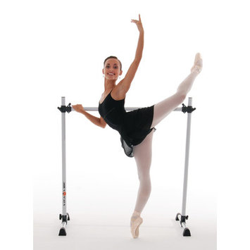 Vitavibe Prodigy Series Modern Aluminum Single Bar Ballet Barre Size: 5 ft.