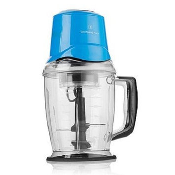 Wolfgang Puck Everyday Essentials 50 Oz. Quad Chopper Blender Color: Blue