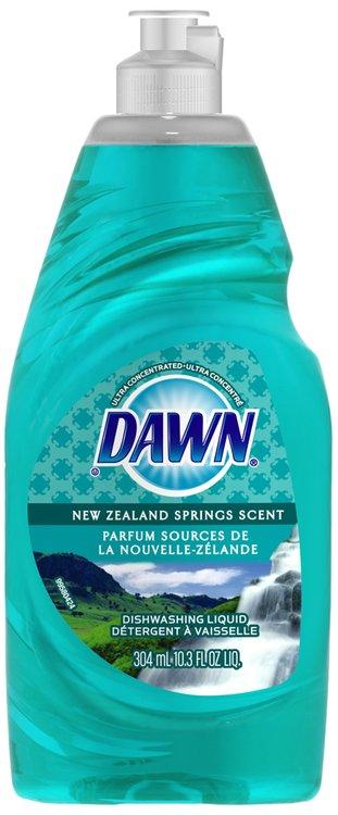 Dawn Ultra New Zealand Spring Scent Dishwashing Liquid 10.3 fl. oz. Bottle