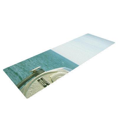 Kess Inhouse Ocean View by Robin Dickinson Ocean Yoga Mat