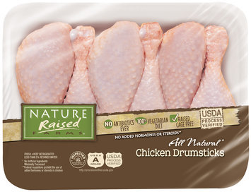 Nature Raised Farms® All Natural Chicken Drumsticks